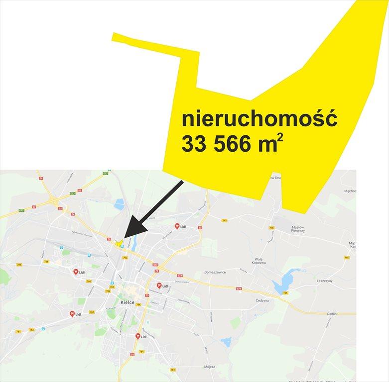 Działka inwestycyjna na sprzedaż Kielce, Olszewskiego  33566m2 Foto 3
