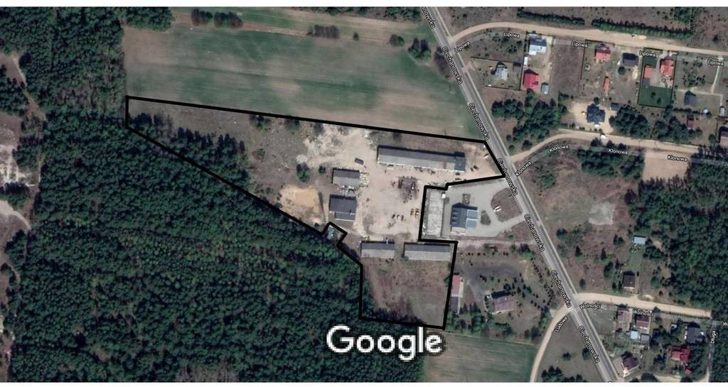 Działka przemysłowo-handlowa na sprzedaż Nowe Miasto, Ciechanowska  33968m2 Foto 1