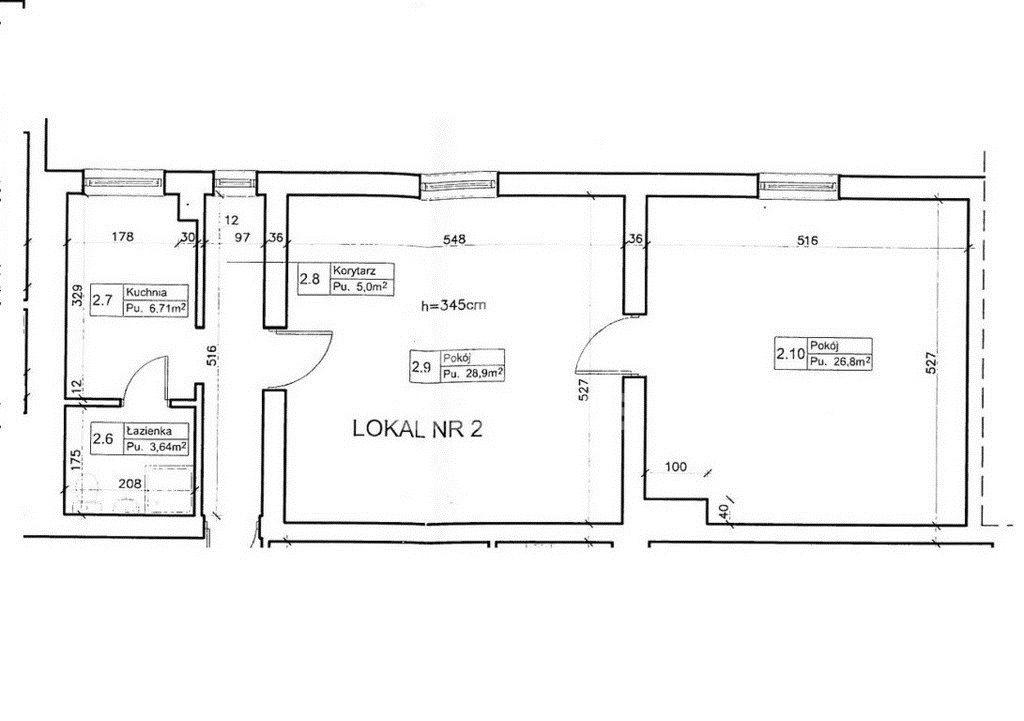 Mieszkanie dwupokojowe na wynajem Starogard Gdański  72m2 Foto 10