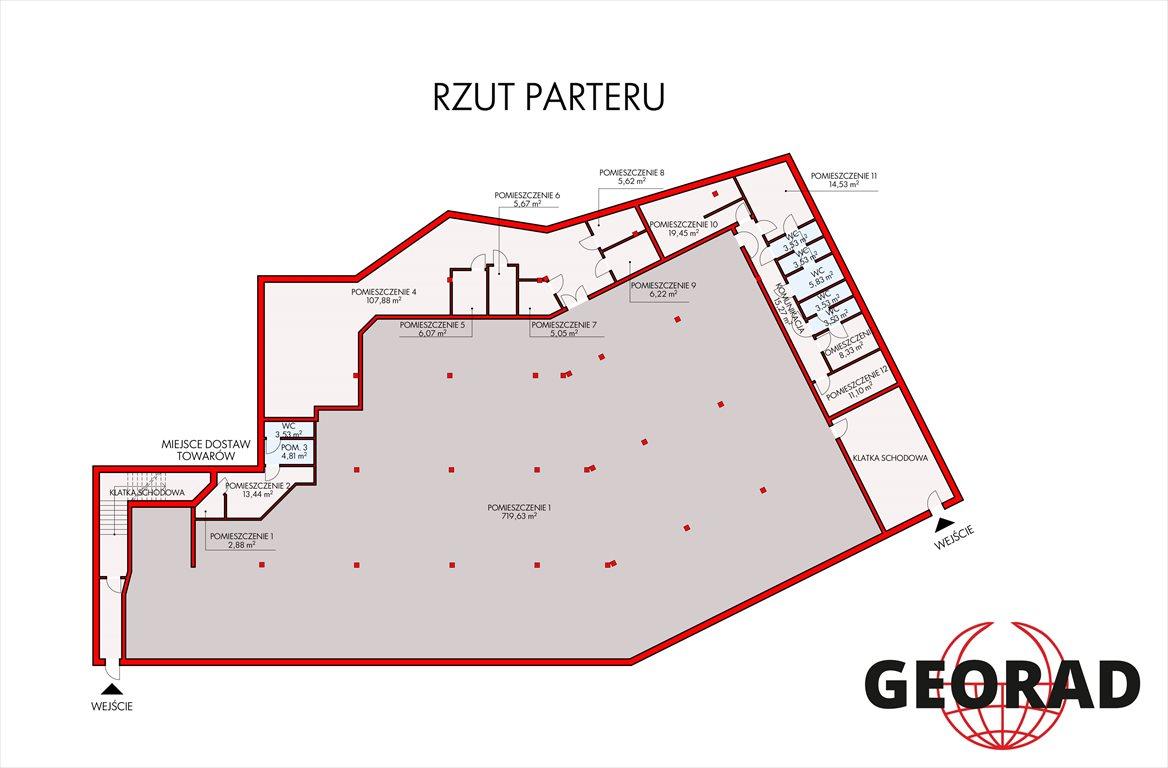 Lokal użytkowy na sprzedaż Rzeszów, Staromieście, szpitalna  2100m2 Foto 1