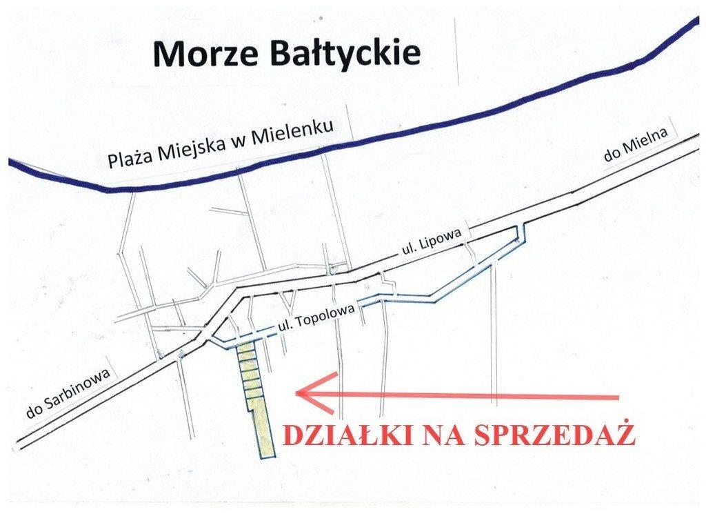 Działka inna na sprzedaż Mielenko  1715m2 Foto 3