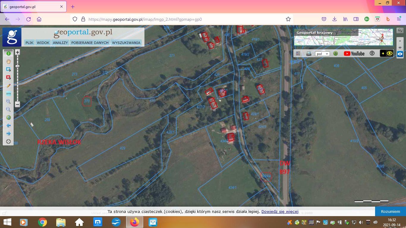 Działka rolna na sprzedaż Wisłok Wielki  5600m2 Foto 7