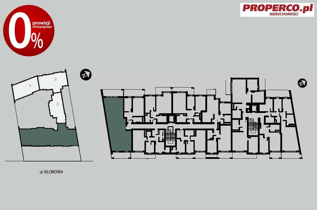 Mieszkanie trzypokojowe na sprzedaż Kielce, Szydłówek, Klonowa  81m2 Foto 7