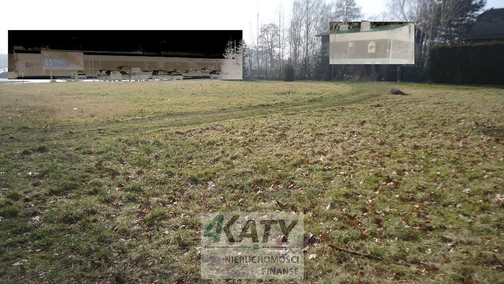 Działka przemysłowo-handlowa pod dzierżawę Strumień  1800m2 Foto 3