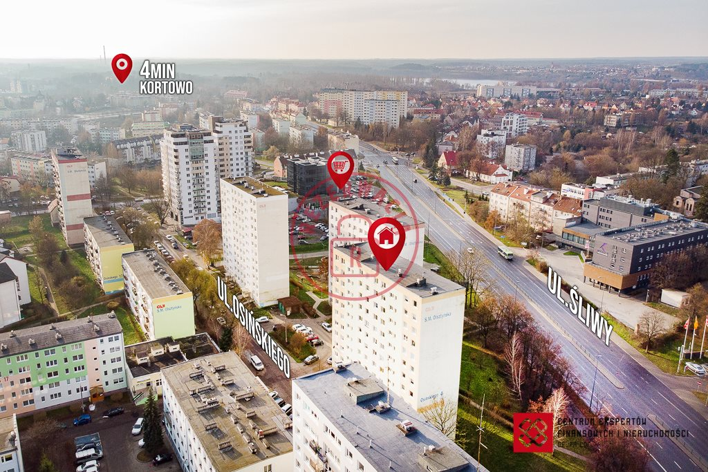 Mieszkanie trzypokojowe na sprzedaż Olsztyn, ks. Wacława Osińskiego  61m2 Foto 10