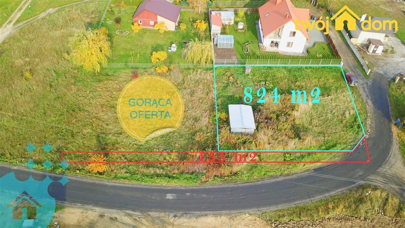 Działka inna na sprzedaż Zalesiany  900m2 Foto 1