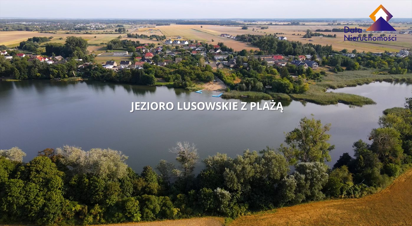 Działka budowlana na sprzedaż Lusówko, Albatrosa  1560m2 Foto 3