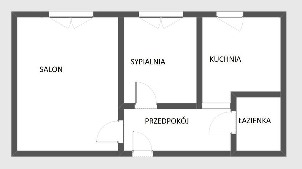 Mieszkanie dwupokojowe na sprzedaż Warszawa, Mokotów, Stary Mokotów, Jarosława Dąbrowskiego  32m2 Foto 7
