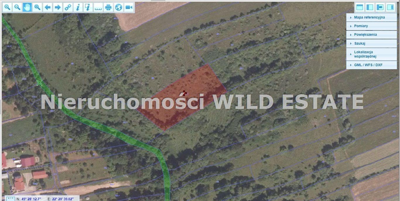 Działka rolna na sprzedaż Lesko, Lesko  2800m2 Foto 1