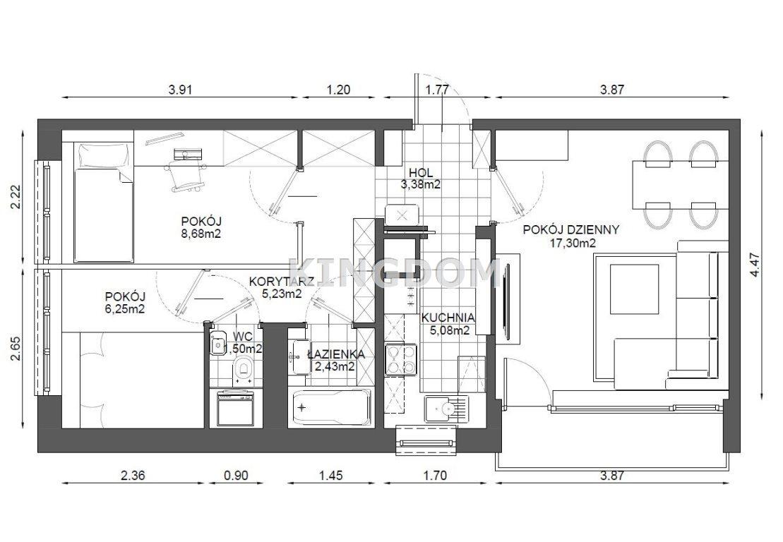Mieszkanie trzypokojowe na sprzedaż Warszawa, Wola, Ulrychów, Okocimska  50m2 Foto 10