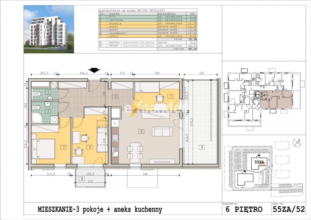 Mieszkanie czteropokojowe  na sprzedaż Rzeszów, Zalesie  73m2 Foto 1