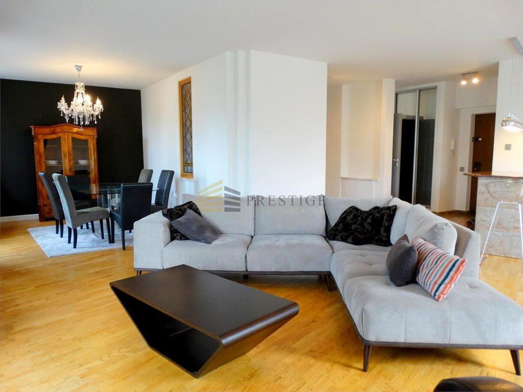 Mieszkanie trzypokojowe na wynajem Warszawa, Praga-Południe, Saska Kępa, Saska  137m2 Foto 1