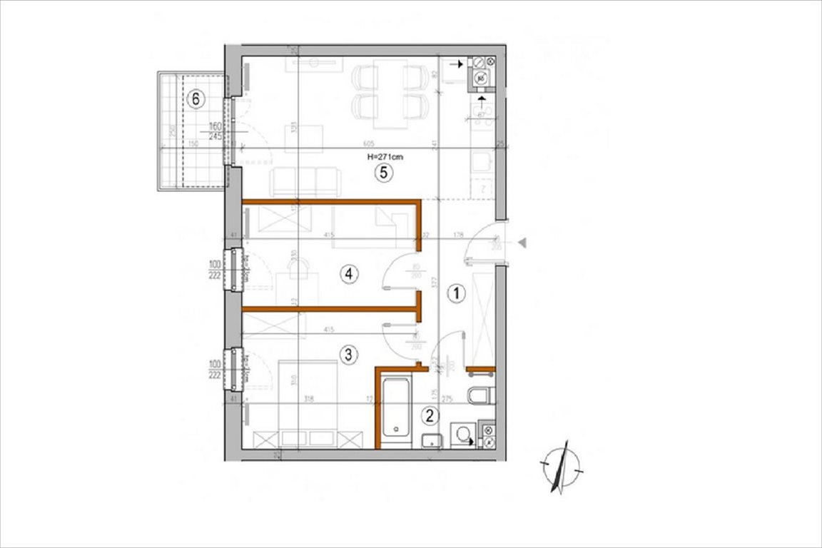 Mieszkanie trzypokojowe na sprzedaż Warszawa, Rembertów, Chełmżyńska  50m2 Foto 2