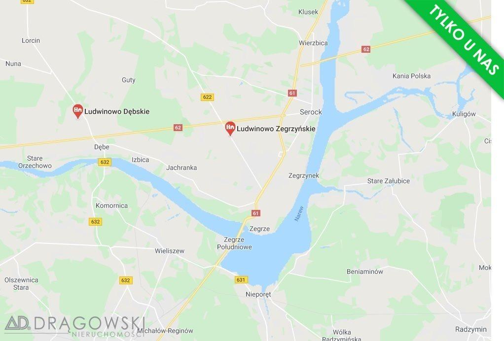 Działka rolna na sprzedaż Ludwinowo Zegrzyńskie  10098m2 Foto 1