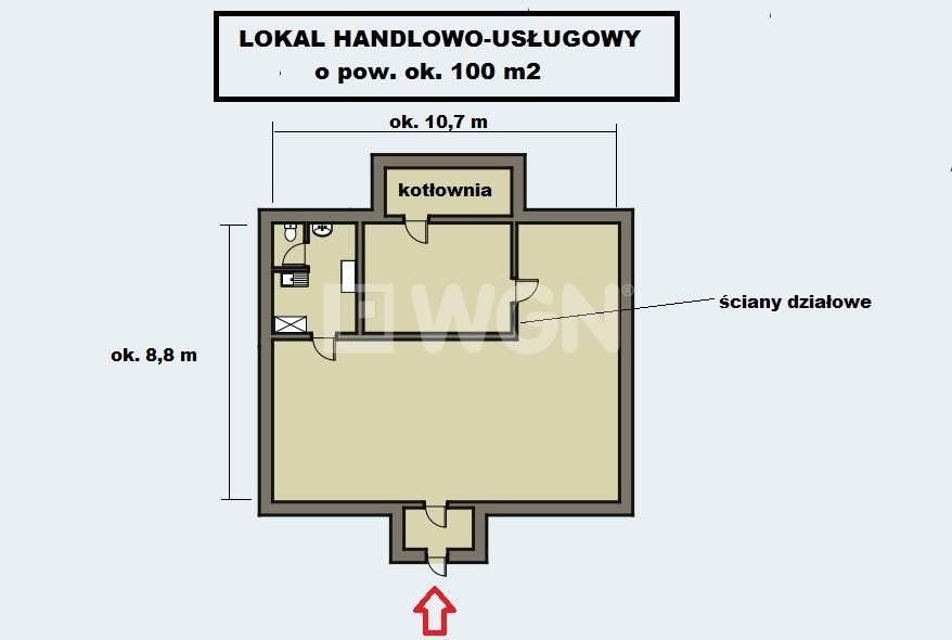Lokal użytkowy na sprzedaż Jaworzno, ok. dzielnicy Szczakowa  98m2 Foto 3
