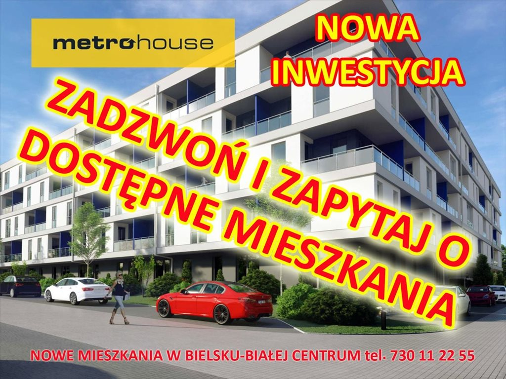 Mieszkanie dwupokojowe na sprzedaż Bielsko-Biała, Bielsko-Biała, Żywiecka  47m2 Foto 2