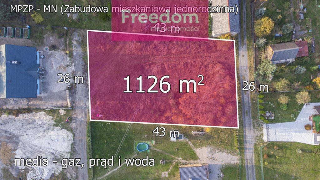 Działka budowlana na sprzedaż Masłońskie  1112m2 Foto 3