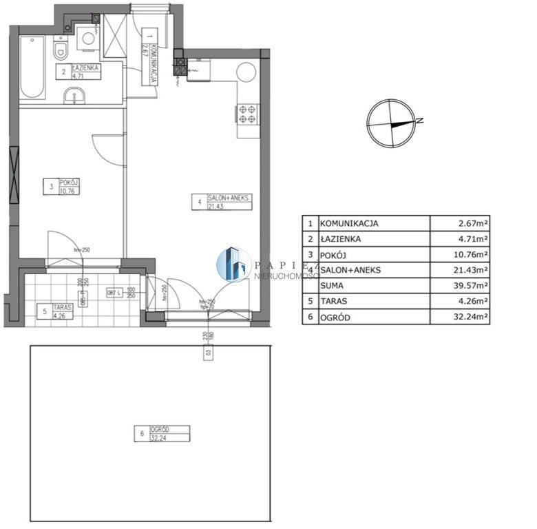 Mieszkanie dwupokojowe na sprzedaż Warszawa, Ursus, Ursus  40m2 Foto 7