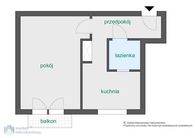 Kawalerka na sprzedaż Warszawa, Bielany, Słodowiec, Żeromskiego Stefana  39m2 Foto 2