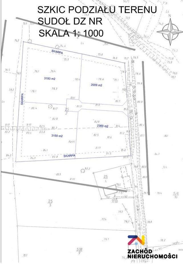Działka budowlana na sprzedaż Sudoł  11800m2 Foto 8