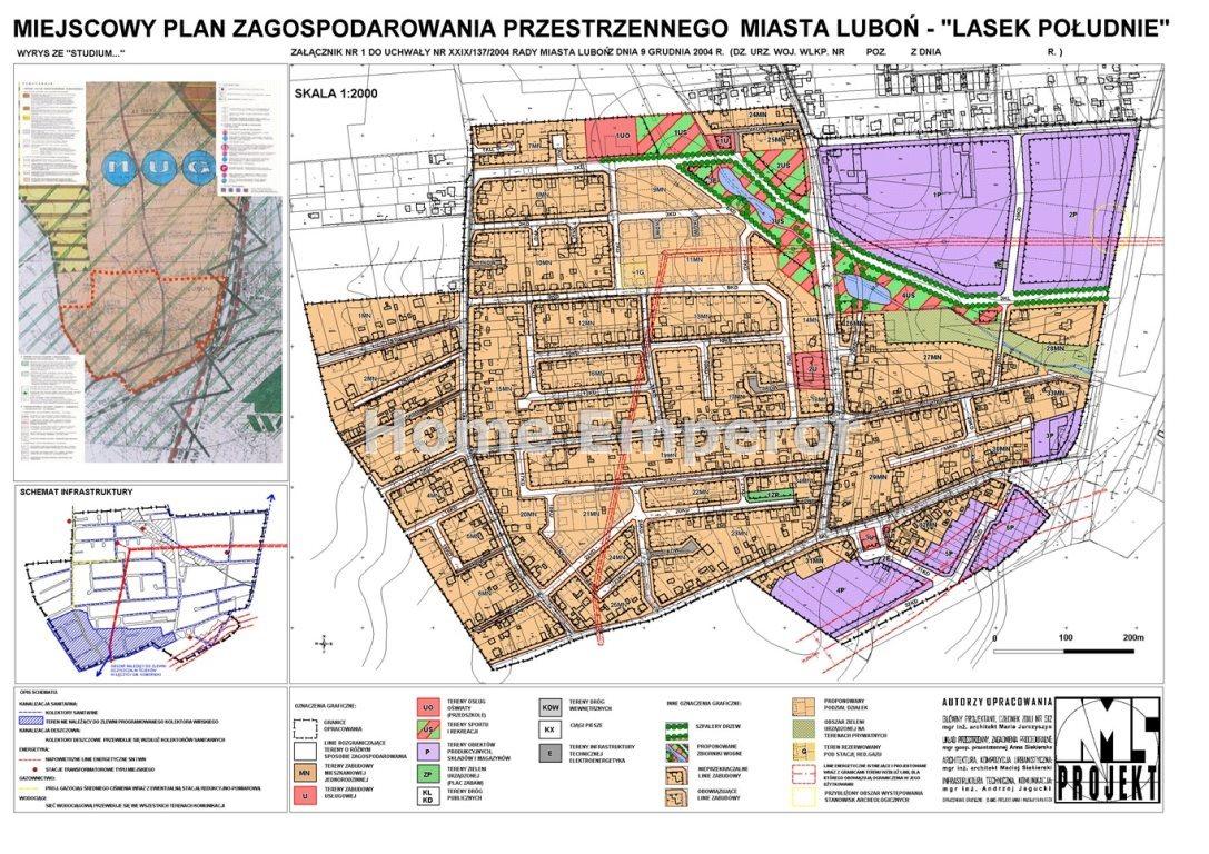 Działka inna na sprzedaż Luboń, Lasek  1808m2 Foto 2