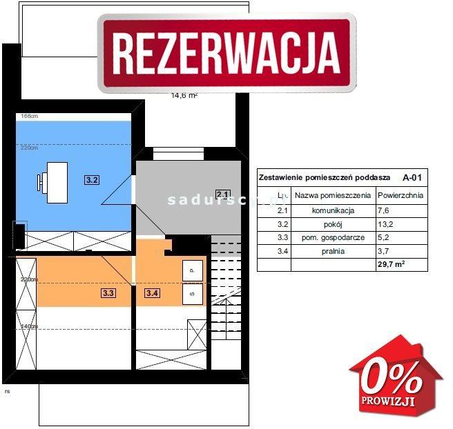 Dom na sprzedaż Kraków, Swoszowice, Soboniowice, Drużbackiej - okolice  146m2 Foto 5