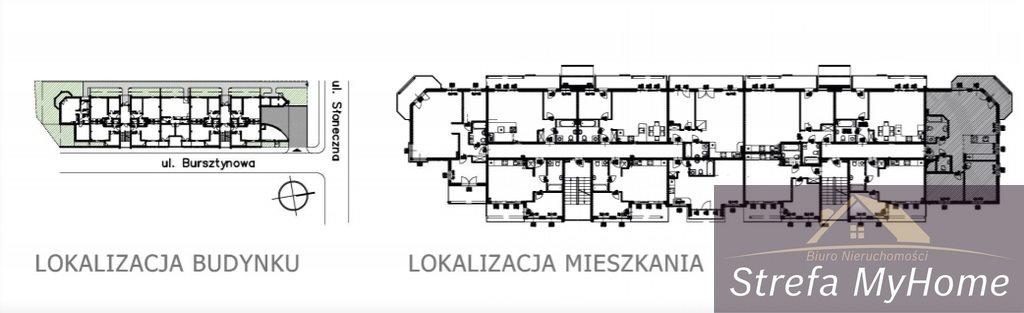 Mieszkanie trzypokojowe na sprzedaż Łukęcin  72m2 Foto 7
