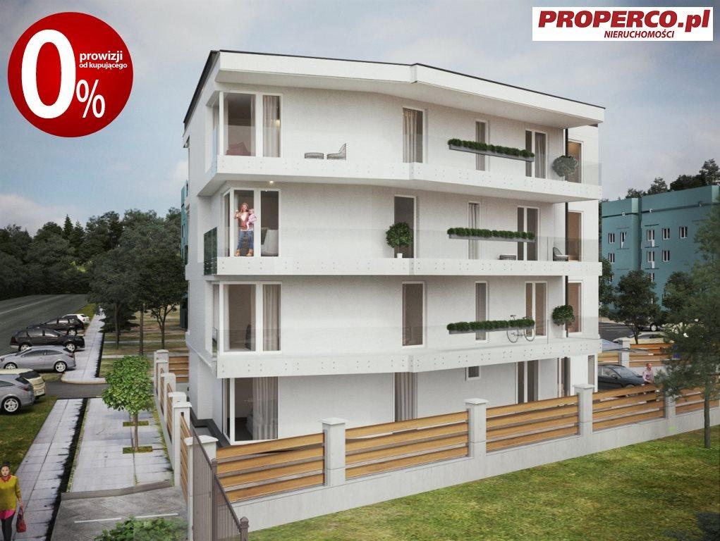 Mieszkanie trzypokojowe na sprzedaż Kielce, Baranówek  53m2 Foto 1