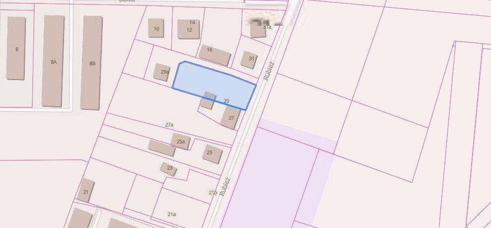 Działka przemysłowo-handlowa na sprzedaż Poznań, Naramowice, Rubież  1221m2 Foto 3