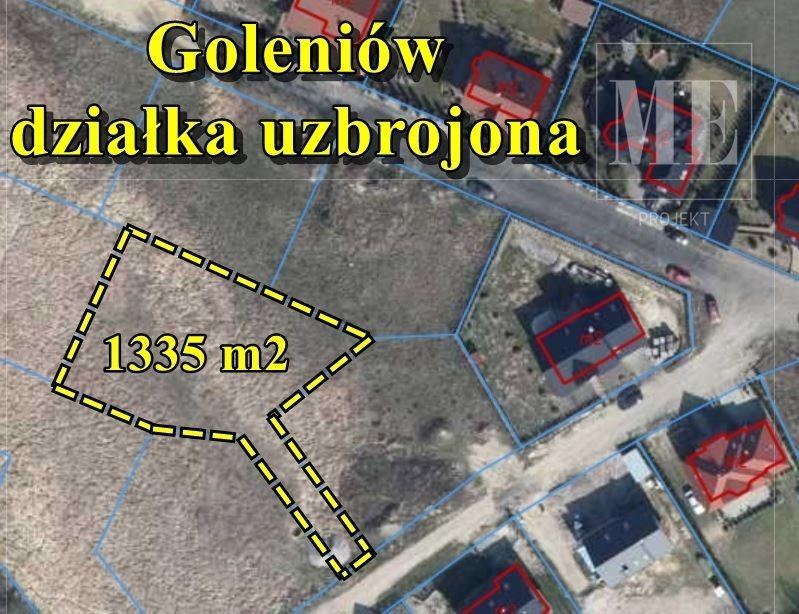 Działka budowlana na sprzedaż Goleniów  1335m2 Foto 1