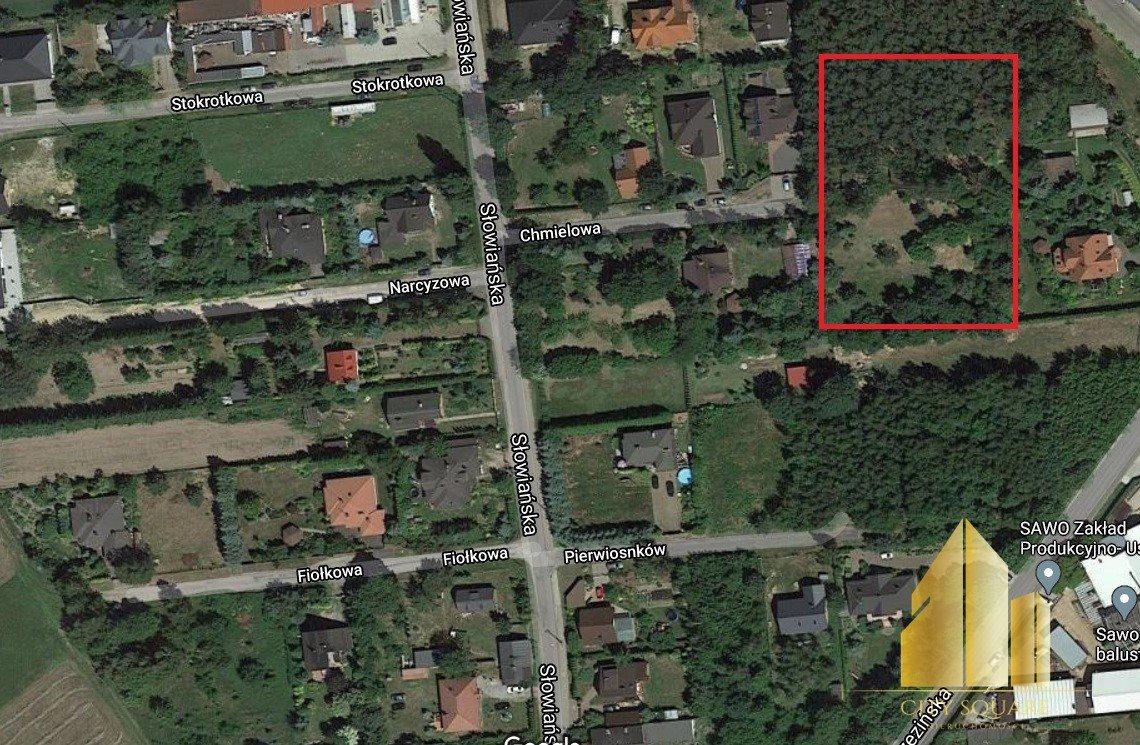 Działka budowlana na sprzedaż Bedoń-Wieś, Chmielowa  4112m2 Foto 5