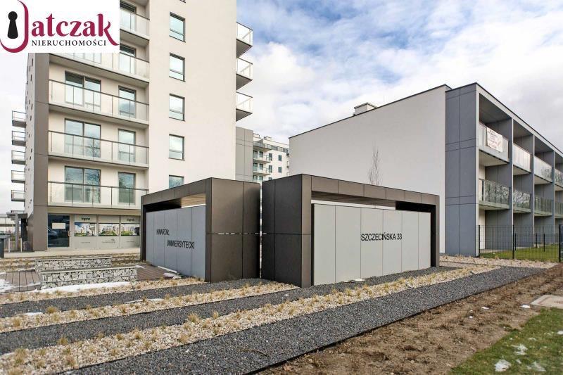 Mieszkanie dwupokojowe na wynajem Gdańsk, Przymorze, KWARTAŁ UNIWERSYTECKI, SZCZECIŃSKA  40m2 Foto 12
