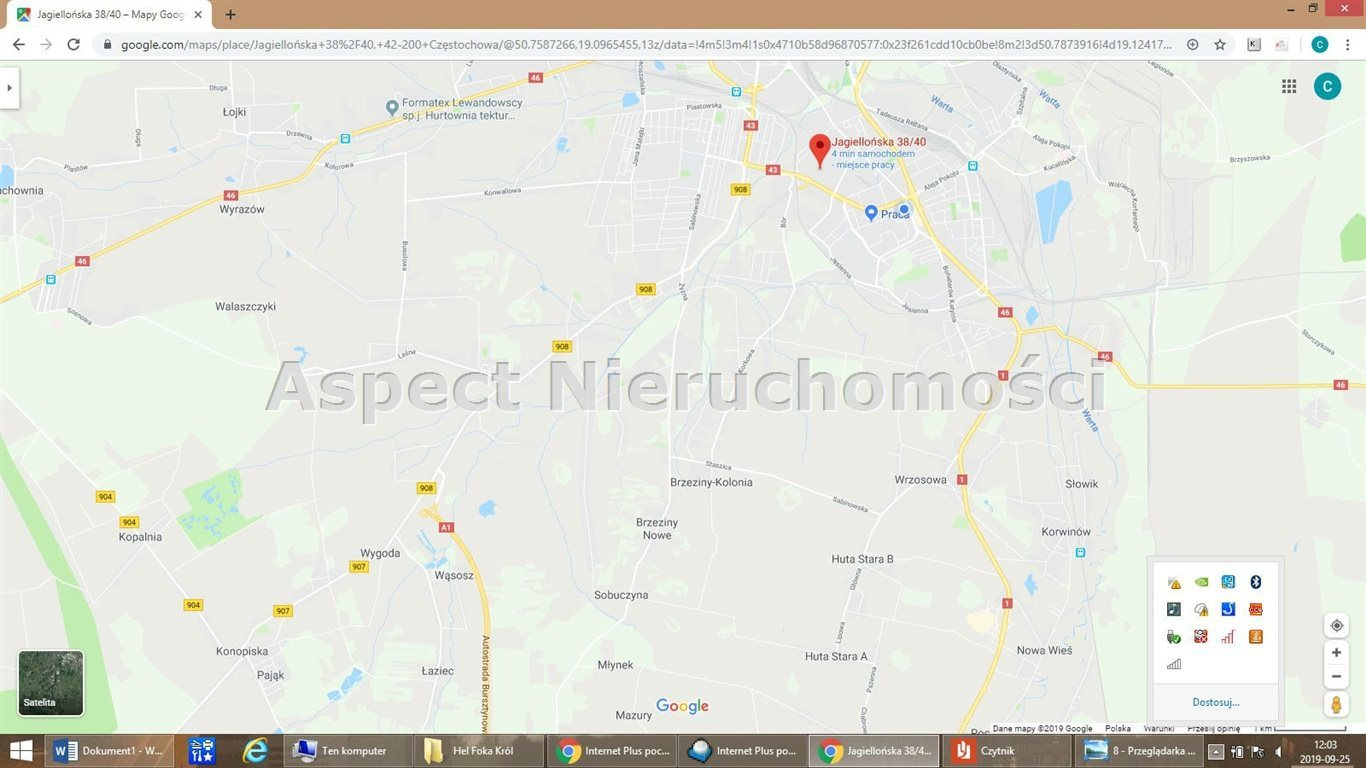 Działka inwestycyjna na sprzedaż Częstochowa, Wrzosowiak  18543m2 Foto 6