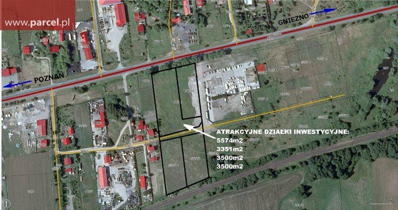 Działka budowlana na sprzedaż Bugaj  3500m2 Foto 1