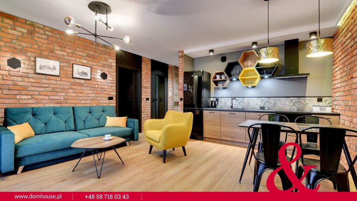 Mieszkanie dwupokojowe na wynajem Gdańsk, Śródmieście, Chmielna  44m2 Foto 1