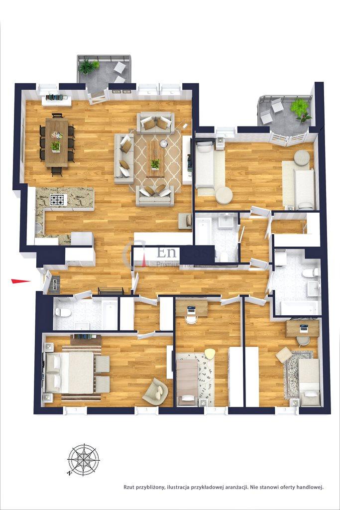 Mieszkanie na sprzedaż Warszawa, Żoliborz, Potocka  134m2 Foto 6