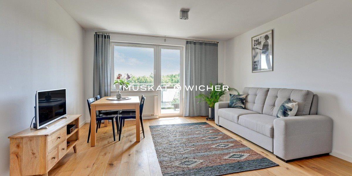 Mieszkanie trzypokojowe na sprzedaż Gdańsk, Morena, Magellana  58m2 Foto 4