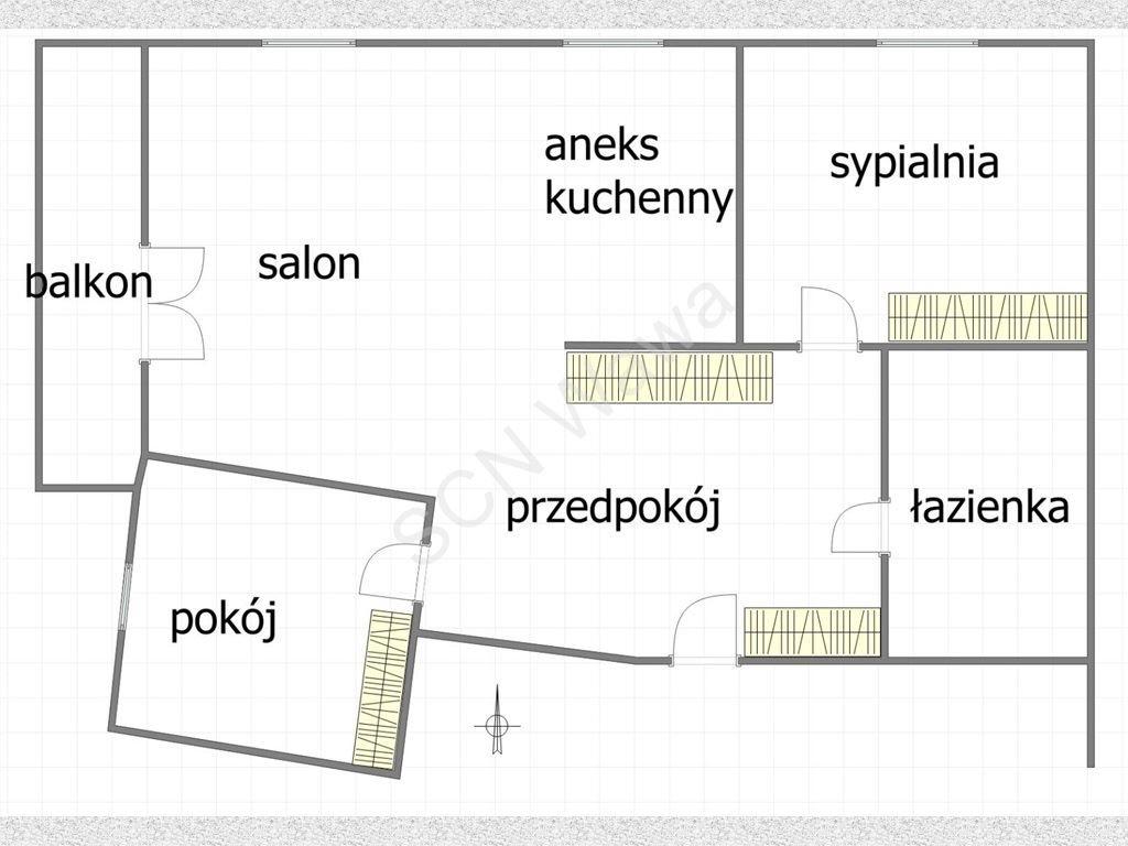 Mieszkanie trzypokojowe na sprzedaż Warszawa, Bemowo, Batalionów Chłopskich  67m2 Foto 9