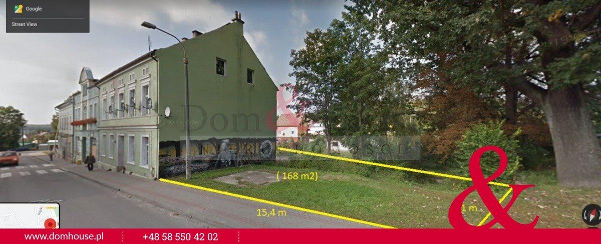 Działka budowlana na sprzedaż Prabuty, Józefa Ignacego Kraszewskiego  168m2 Foto 1