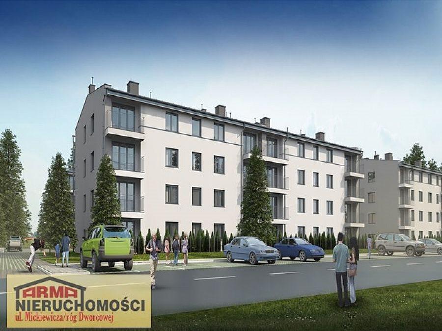 Mieszkanie trzypokojowe na sprzedaż Stargard, Stare Miasto, Gdańska  58m2 Foto 3