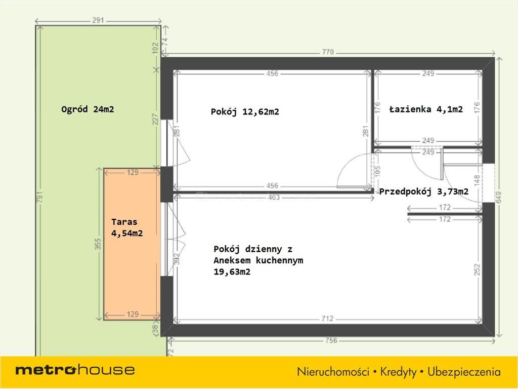 Mieszkanie dwupokojowe na sprzedaż Katowice, Muchowiec, Francuska  40m2 Foto 8
