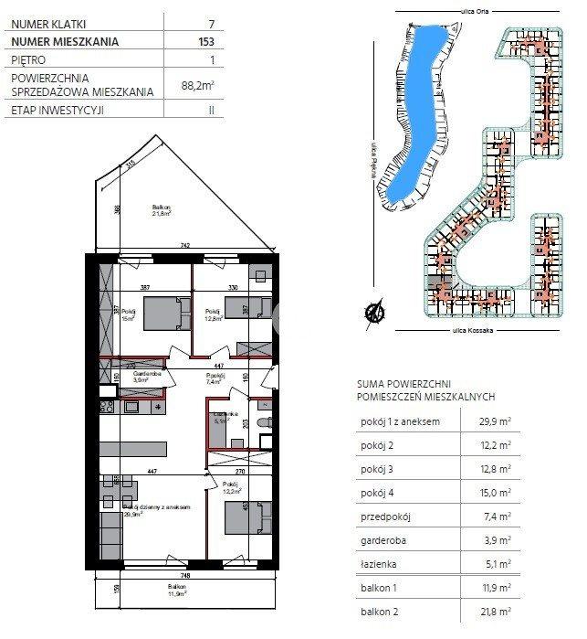 Mieszkanie czteropokojowe  na sprzedaż Bydgoszcz, Szwederowo, Piękna  88m2 Foto 6