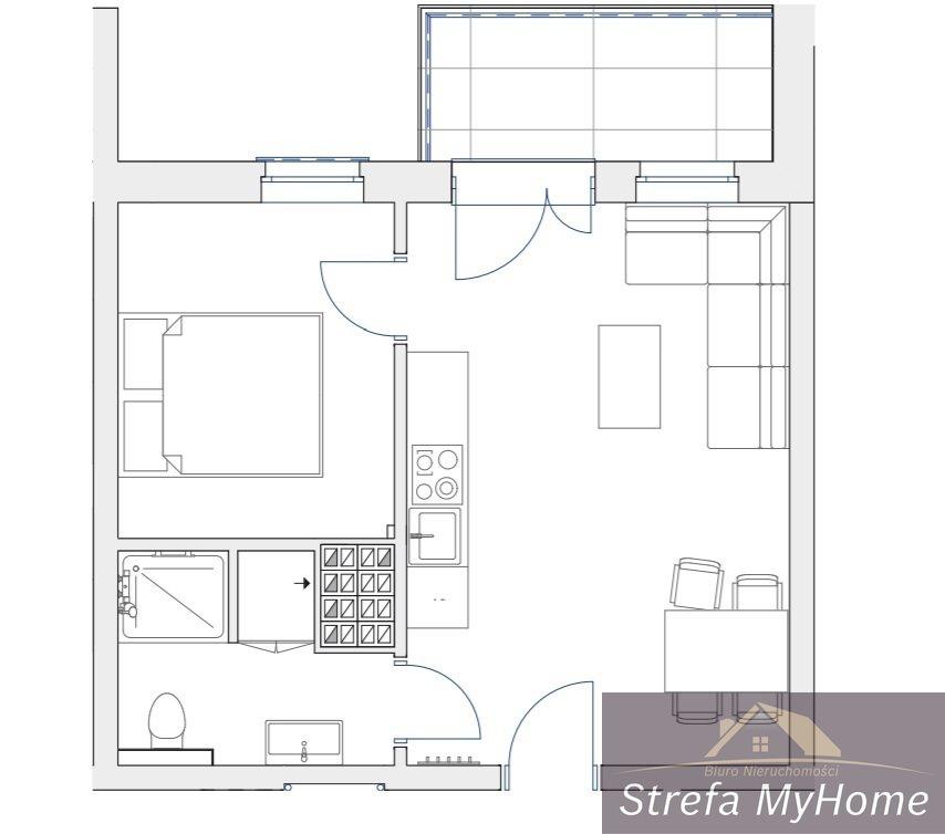Mieszkanie dwupokojowe na sprzedaż Pobierowo  34m2 Foto 5
