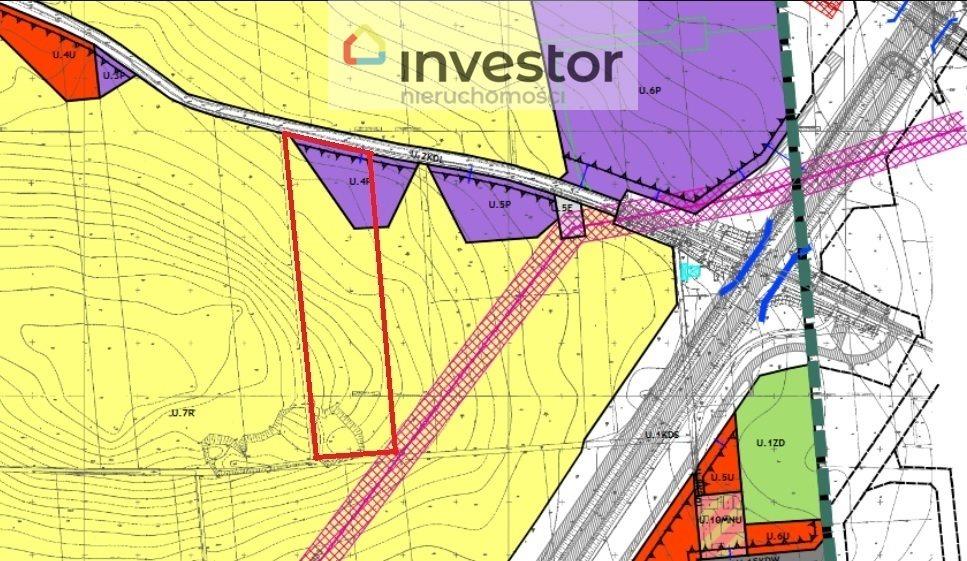 Działka inwestycyjna na sprzedaż Legnica  3900m2 Foto 2
