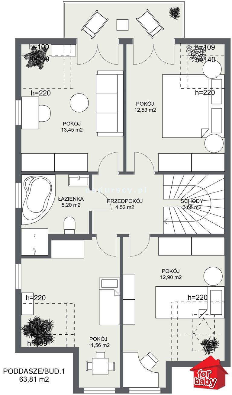 Dom na sprzedaż Liszki, Piekary, Piekary, Piekary  131m2 Foto 6
