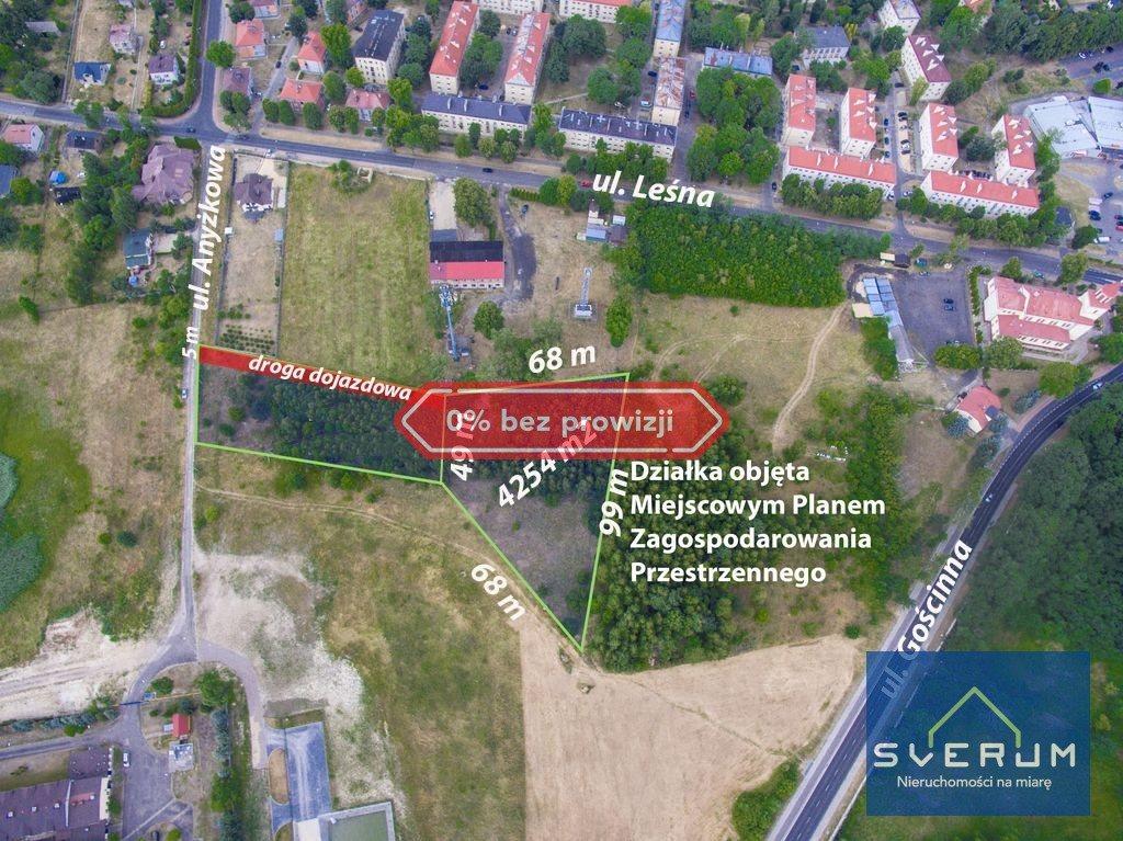 Działka przemysłowo-handlowa na sprzedaż Częstochowa, Dźbów, Anyżkowa  4254m2 Foto 1