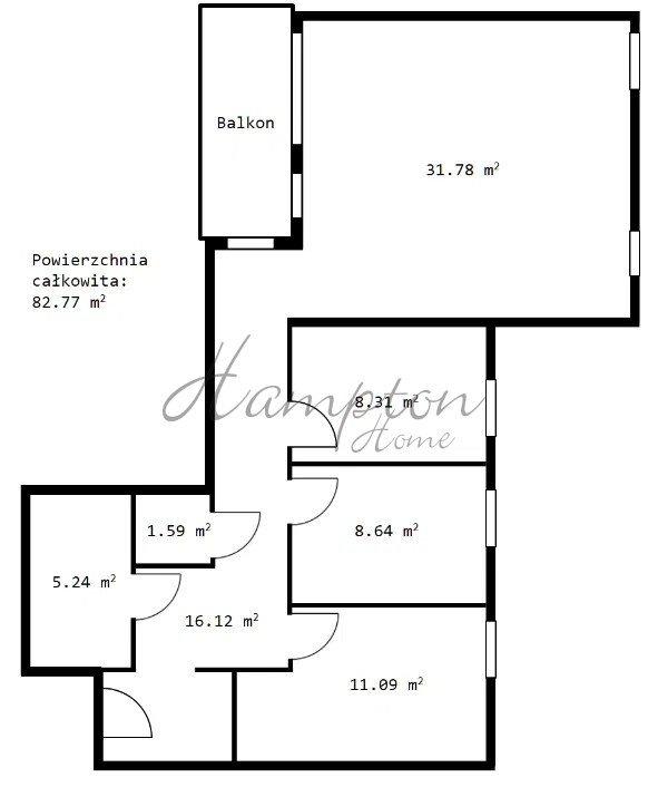 Mieszkanie czteropokojowe  na sprzedaż Grodzisk Mazowiecki  82m2 Foto 10