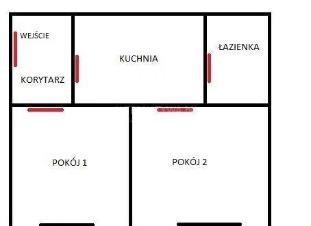 Mieszkanie dwupokojowe na sprzedaż Poznań, Wilda, Wilda, Dolina  29m2 Foto 9