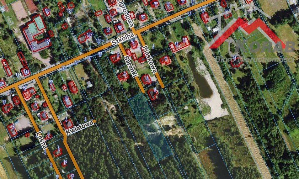 Działka leśna na sprzedaż Sowia Wola  3125m2 Foto 5