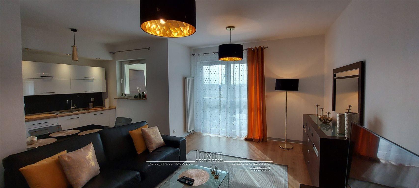 Mieszkanie trzypokojowe na wynajem Katowice, Dąb, Johna Baildona  71m2 Foto 3
